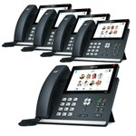 Yealink SFB-T48G (5-Pack) Skype For Business SIP-T48G