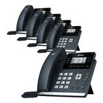 Yealink T42S (5-Pack) Ultra-elegant Gigabit IP Phone