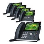 Yealink T48S (5-Pack) Ultra-elegant Gigabit IP Phone