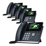 Yealink T46S (5-Pack) Ultra-elegant Gigabit IP Phone