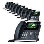 Yealink T46S (10-Pack) Ultra-elegant Gigabit IP Phone