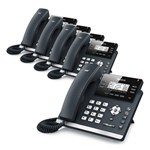 Yealink SIP-T41P (5 Pack) Ultra-Elegant IP Phone
