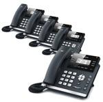Yealink SIP-T41P-AC (5 Pack) Ultra-Elegant IP Phone